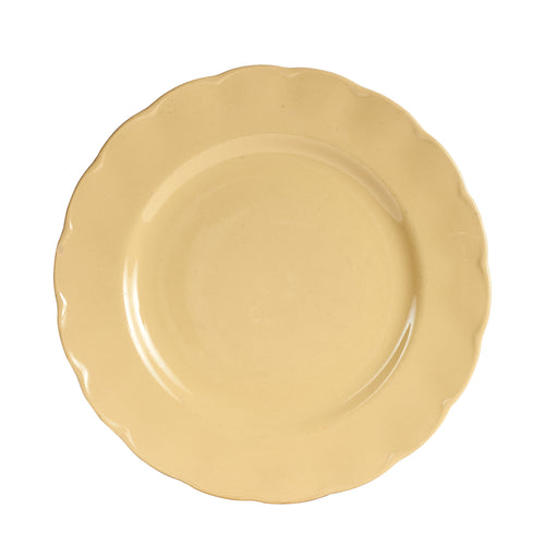 Lg Light Honey Yellow Plate