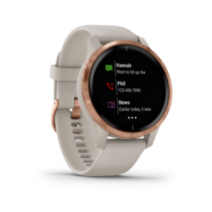 Garmin Venu | Light Sand w/ Rose Gold Hardware - Carolina Sportsman Outfitters