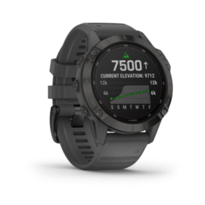 Fenix 6 Pro Solar Edition | Black w/ Slate Gray Band
