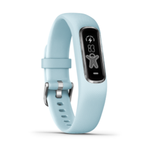Garmin Vivosmart 4 | Small/Medium, Azure Blue with Silver Hardware - Carolina Sportsman Outfitters
