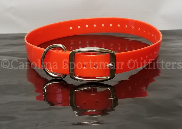 20x1 inch D-Ring Collar with FREE NAME PLATE - Carolina Sportsman Outfitters