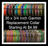 30x3/4 inch Garmin Replacement Collar - Carolina Sportsman Outfitters