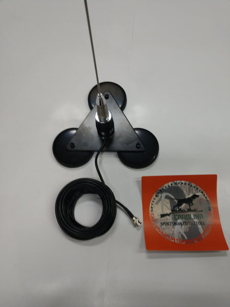 Triple Magnet Long Range Antenna Kit Spring Coil