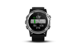 Garmin Descent MK1 | Silver Sapphire w/ Black Band - Carolina Sportsman Outfitters
