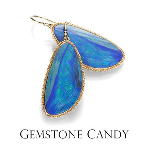 Hit the sweet spot with these luscious gemstones, thoughtfully set by designers and metalsmiths in order to highlight their natural radiance. One of a kind pieces with bursts of color, clusters of gems, innovative settings and more are waiting to be