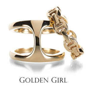 Golden Girl | Empower yourself with jewelry crafted in luxurious gold, the most highly prized adornment since the earliest days of cultural record. These pieces have been transformed by the hands of alchemists, each an expression of the passion of both