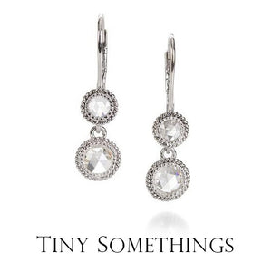 Tiny Somethings | Are you a minimalist? Looking for a tiny something? A little piece of luxe to call your own? This collection of sparkly spectaculars represents the sweetest little somethings you ever did see. Here you will find delicate chains with