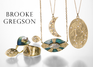 Brooke Gregson | Designer Jewelry | Quadrum Gallery  Shop Brooke Gregson handcrafted designer jewelry at Quadrum, featuring her signature Astrology necklaces with diamond constellations and hand engraved enamel rings and earrings.