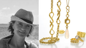 Jewelry designer Lilly Fitzgerald, 22k yellow gold chain, handmade chains, Ethiopian opal necklace, diamond necklaces, 22k yellow gold rings, handcrafted rings, handmade jewelry, fine jewelry, shop lilly fitzgerald online, boston jewelry store
