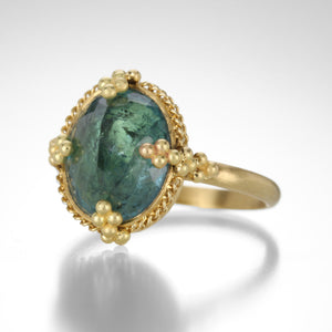 Amali Tourmaline Ring with Ball Prongs | Quadrum Gallery