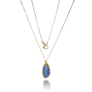 Amali Opal Pendant Necklace with Granulation | Quadrum Gallery
