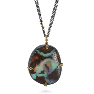 Amali Opal Granulated Necklace | Quadrum Gallery