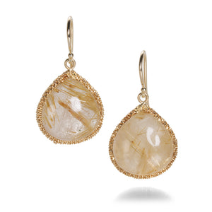 Amali Rutilated Quartz Candy Drop Earrings | Quadrum Gallery