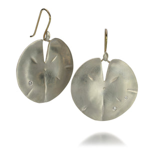 Annette Ferdinandsen Large Lily Pad Earrings | Quadrum Gallery