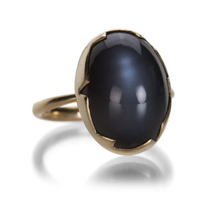 Annette Ferdinandsen Gray Moonstone Cracked Egg Ring | Quadrum Gallery