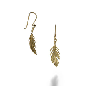 Annette Ferdinandsen Small Feather Earrings | Quadrum Gallery