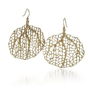 Annette Ferdinandsen 10k Sea Fan Earrings | Quadrum Gallery