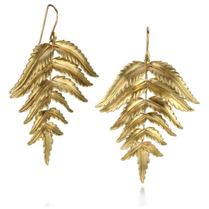 Annette Ferdinandsen Large Forest Fern Earrings | Quadrum Gallery