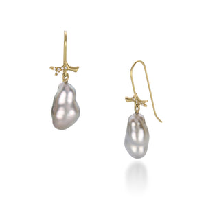 Annette Ferdinandsen Keshi Pearl Earrings | Quadrum Gallery