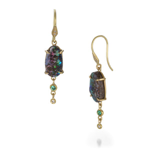 Annie Fensterstock Boulder Opal Earrings | Quadrum Gallery