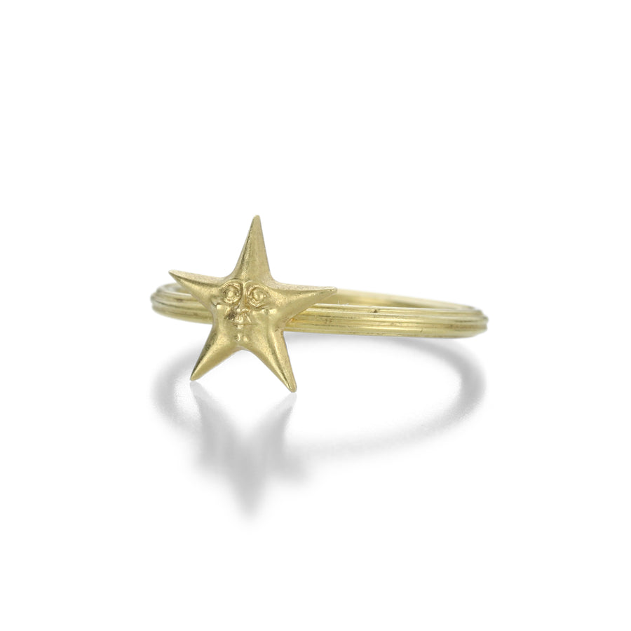 Anthony Lent Starface Ring | Quadrum Gallery