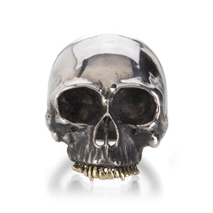 Anthony Lent Skull Ring | Quadrum Gallery