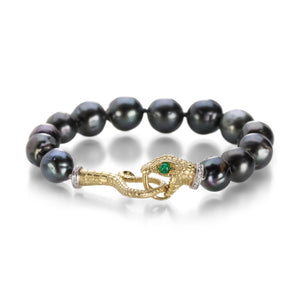 Anthony Lent Serpent Tahitian Pearl Bracelet | Quadrum Gallery