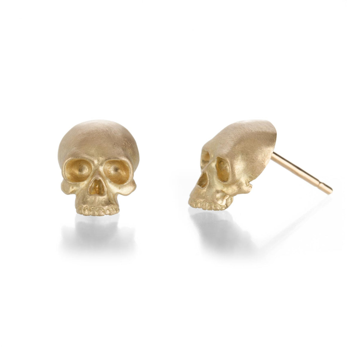 Anthony Lent Skull Studs | Quadrum Gallery