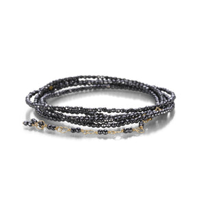 Anne Sportun Faceted Hematite Wrap Bracelet | Quadrum Gallery