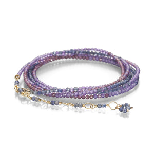 Anne Sportun Purple Ombre Wrap Bracelet | Quadrum Gallery