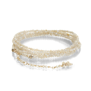 Anne Sportun Almond Mother of Pearl Wrap Bracelet | Quadrum Gallery