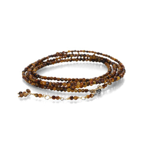 Anne Sportun Tiger Eye Wrap Bracelet | Quadrum Gallery
