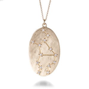 Brooke Gregson Diamond Virgo Necklace | Quadrum Gallery