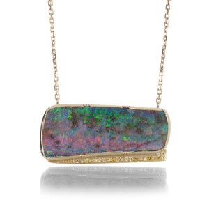 Brooke Gregson Oceana Boulder Opal Necklace | Quadrum Gallery