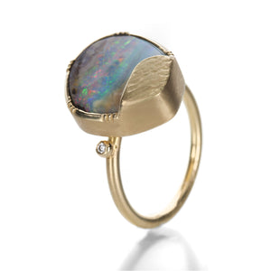 Brooke Gregson Boulder Opal Ellipse Ring | Quadrum Gallery