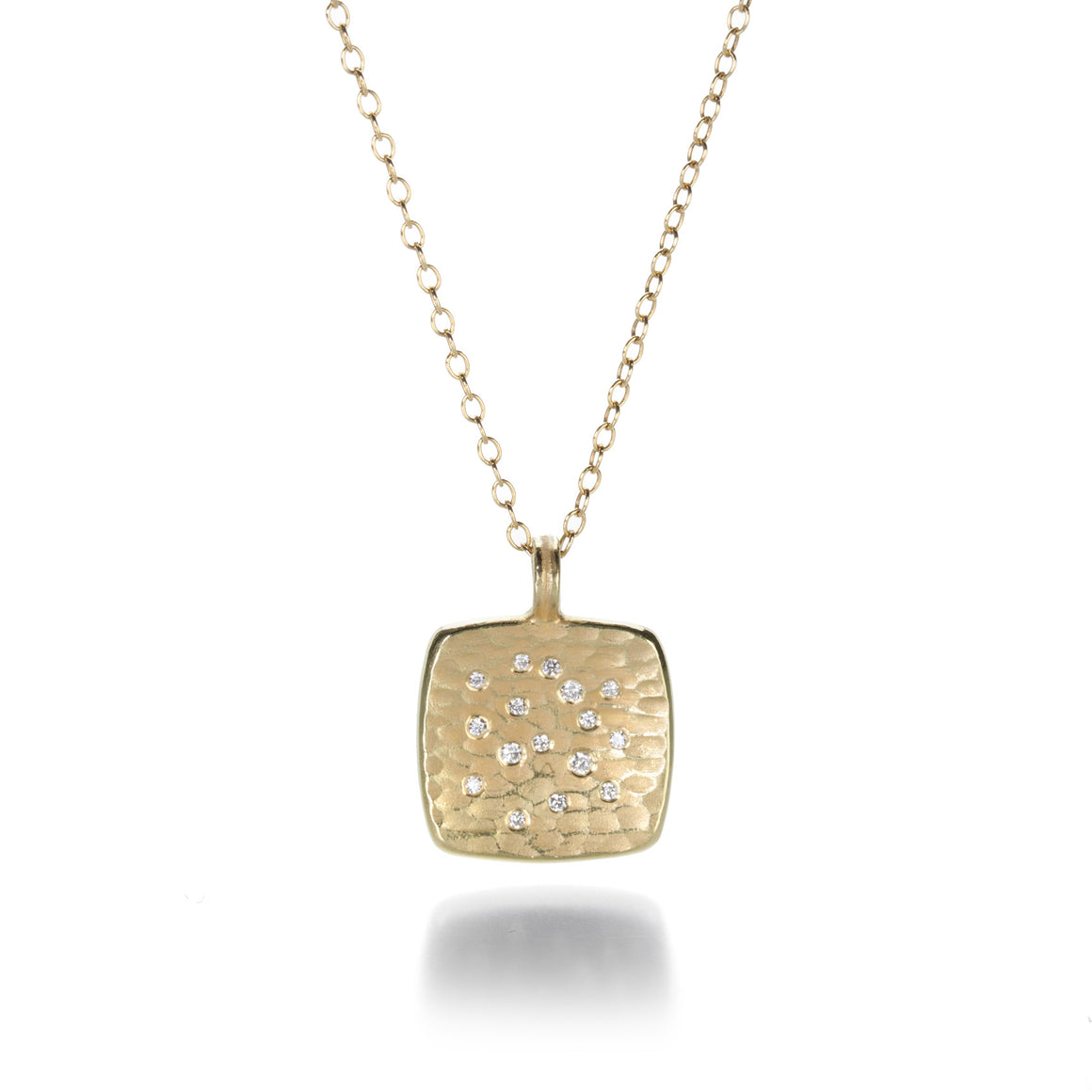 Barbara Heinrich Glacier Necklace with Scattered Diamonds | Quadrum Gallery