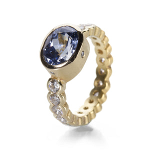Barbara Heinrich Oval Light Blue Sapphire Ring | Quadrum Gallery