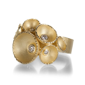 Barbara Heinrich Shell Element Ring | Quadrum Gallery