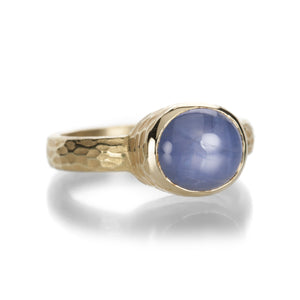 Barbara Heinrich Star Sapphire Carved Glacier Ring | Quadrum Gallery
