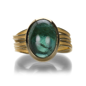 Barbara Heinrich Blue Green Tourmaline Ring | Quadrum Gallery