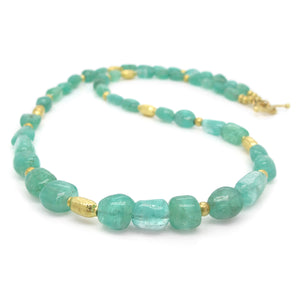 Barbara Heinrich Emerald Bead Necklace | Quadrum Gallery