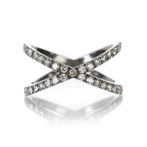 "Eva Fehren Shorty ""X"" Ring 