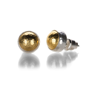 Gurhan Round Stud Earrings | Quadrum Gallery