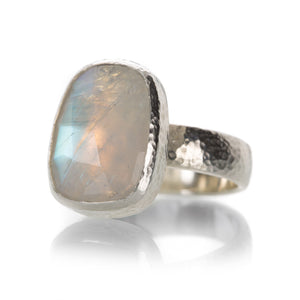 Gurhan Sterling Silver Rainbow Moonstone Ring | Quadrum Gallery