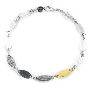 Gurhan Tri Color Willow Flake Bracelet | Quadrum Gallery