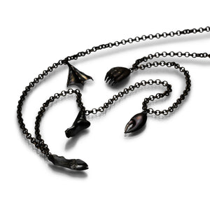 Gabriella Kiss Bronze Foot Necklace II | Quadrum Gallery