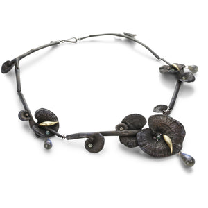Gabriella Kiss Bronze Mushroom Necklace | Quadrum Gallery
