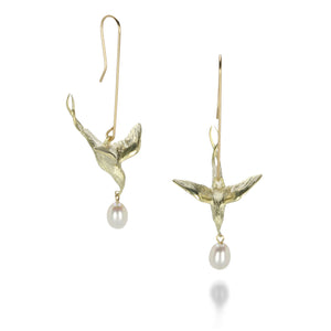 Gabriella Kiss Flying Bird Earrings | Quadrum Gallery