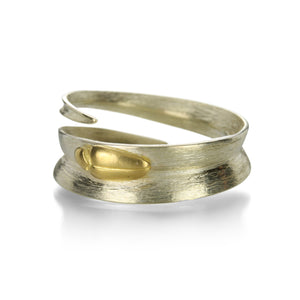 Gabriella Kiss Gold Blade of Grass Ring | Quadrum Gallery