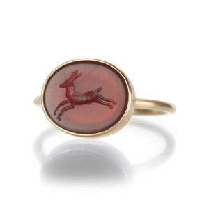 Gabriella Kiss Deer Intaglio Ring | Quadrum Gallery